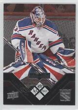 2008 Upper Deck Black Diamond #180 Quadruple Diamonds Henrik Lundqvist Card 0j6