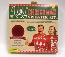 Ugly Christmas Sweater Kit Make Your Own