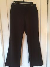 Nicole Miller Wide Leg Dress Pants, Trousers, Brown, Size 8, ECU