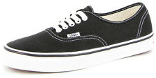 New Men's Vans Authentics Black/white Footwear Lace Shoes Sneakers