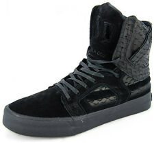 New Men's Supra Skytop 2 Black/black/bla Footwear Hi-top Sneakers Boots
