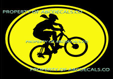 VRS OVAL Cycling Mountain Bike Bicycle Girl Helmet CAR DECAL VINYL STICKER
