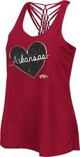 Ladies Arkansas Razorback Big League Tank Top