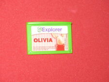 Olivia Leap Frog Leapster explorer GS leap Pad 1 2 3 ultra tablet cartridge game