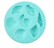 Seashells silicone reusable resin mold mould resin jewelry crafts jewelry