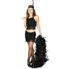 Adult Black Sexy Flapper Costume