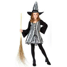 Childs Goth Rose Witch Costume