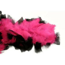 Pink/Black Chandelle Feather Boa