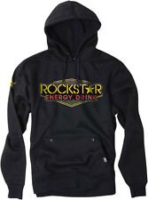 Factory Effex Licensed Rockstar Vegas Pullover Hoodie Black Mens All Sizes