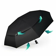 NEW Travel Umbrella - Compact for Easy Carrying, Strong, Durable Double Canopy