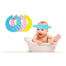 Adjustable Baby Shower Cap Children Kids Shampoo Bathing Wash Hair Shield Hat
