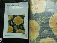 Cleopatras's Needle Tapestry Herb Pillow Kit Yellow Poppy HP36B BAG IS TATTY