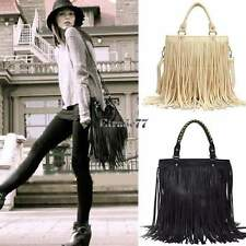 Womens Celebrity Tassel Fringe Shoulder Messenger Bag Handbag Vintage Crossbody