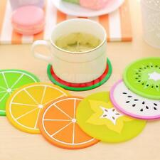 3D Round Coaster Silicone Cup Drinks Holder Mat Tableware Banquet Table Placemat