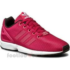 Shoes Adidas Originals ZX Flux J s76283 Running Girl's Sneakers Mesh Dark Pink