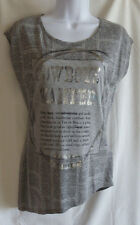 """GUESS Light Gray Multi Short Sleeve """"Cowboys Wanted"""" Graphic T-Shirt  $49.50"""