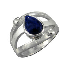 Jewelry-Michel Ladies Ring Silver 925 Lapis Lazuli - Creative-Size 56 (1,190)
