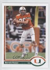 2011 Upper Deck 1991 UD 20th Anniversary #20A-31 Bernie Kosar Football Card 0h1