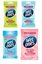 Wet Ones Gentle Moisturising Uplifting Fresh Gentle Wipes (1 Pack x 12 Wipes)