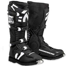 NEW MOOSE RACING BLACK MENS ADULT M1.2 WITH ATV SOLE MOTOCROSS MX ATV BOOTS