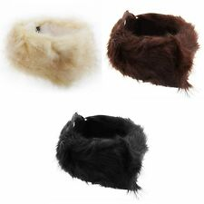 FLOSO Womens/Ladies Faux Fur Winter Headband