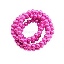 Imitation Pearl Glass Beads Round DIY Beads Jewelry Accessories Findings