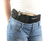 Ultimate Belly Band Holster Gun Holsters Concealed Carry Black Fits Gun Glock