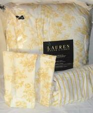 Ralph lauren golden yellow rose queen comforter set new 1st quality