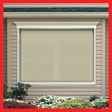 NEW! 180 Width x 210 Drop Outdoor Roller Blind PVC Screen Verandah Blinds