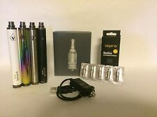 1600mAh Variable Voltage Spinner 2 Pen Battery + NAUTILUS + USB + COILS