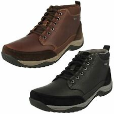 Clarks Mens Gore-tex Waterproof Boots 'Baystone Top GTX'