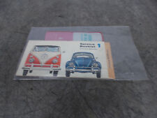 1965 VOLKSWAGEN SERVICE BOOKLET 1 1300 SEDAN STATION WAGON  TRUCKS