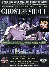 GHOST IN THE SHELL (DVD, 1998, Original Japanese Dubbed Subtitled English) NEW
