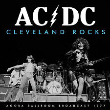 AC/DC New Sealed 2016 UNRELEASED LIVE 1977 CLEVELAND 1ST US TOUR CONCERT CD