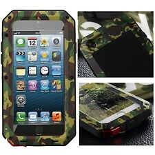 Military Shockproof Aluminum Metal Gorilla Glass Case Cover For iPhone 6 6S Plus