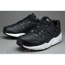 Shoes Puma R698 Core Leather 360601 02 Man Sneakers Black White