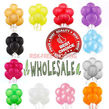 """WHOLESALE BALLOON ALL COLOURS 100-5000 10""""Latex LARGE High Quality Any Occasions"""