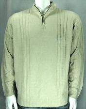 NEW Axis® Chenille Half-Zip Men's Big & Tall Sweater (Stone)
