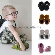 Leather Tassel Baby Infant Soft Sole Shoes Sandals Boy Girl Toddler Moccasin