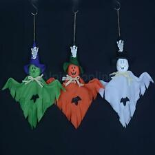 Halloween Bar Haunted House Scene Layout Props Hanging Ghost Party Decoration