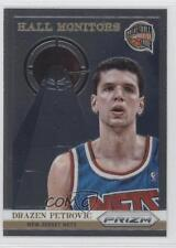 2013-14 Panini Prizm Hall Monitors #10 Drazen Petrovic New Jersey Nets Card 0f8