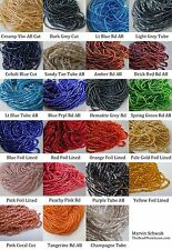 Czech Glass Seed Bead Hanks YOU CHOOSE COLOR Sz 2mm 11/0 10/0 Bead Hank