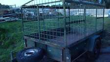 8'X5' All steel fully caged Trailer
