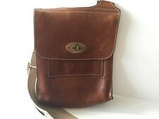 Genuine leather Mulberry messenger  bag