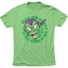 T-Shirts Size S-2XL New Authentic Mens Green Goblin Laughing Retro T-Shirt