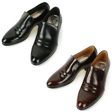 Mooda Mens Leather Loafer Shoes Casual Formal Lace up Dress Shoes Ace