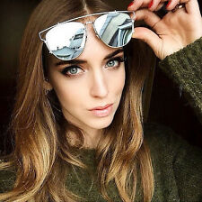 Mirror Technologic Sunglasses Men Women Designer Aviator Retro Fashion