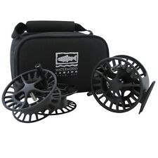 Waterworks Lamson Fly Fishing Liquid Large Arbor Fly Reel 3 Pack
