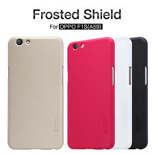 Nillkin Matte Super Frosted Shield Case Cover +Screen Protector For OPPO F1S A59