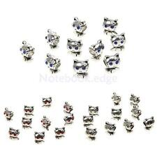 10pcs Tibet Charms Jewelry Cat Loose Beads Fit for Necklace Bracelet DIY Jewelry